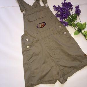 Denim - Disney Winnie the Pooh vintage overalls